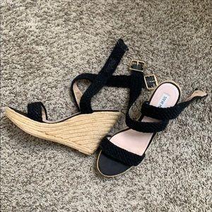 Steve Madden Espadrille Lace Up Heeled Sandal
